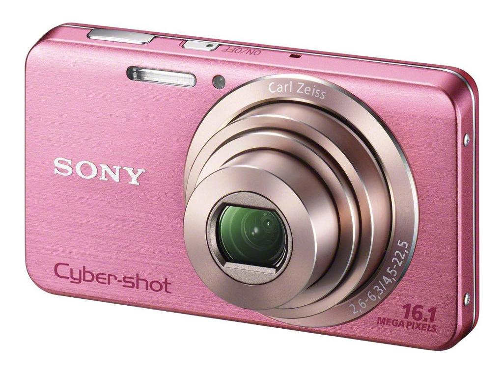 Sony DSCW630 pink